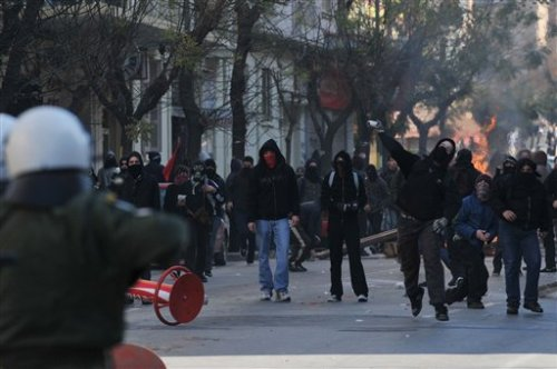 GREECE RIOTS